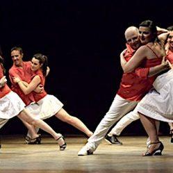 Scuola di danza Marlon Giuri esibizione di salsa