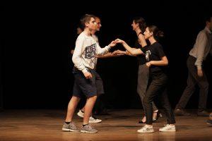 Esibizione degli allievi della scuola di danza Marlon Giuri
