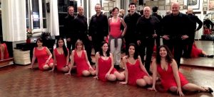 Scuola di danza Marlon Giuri: equipe salsa